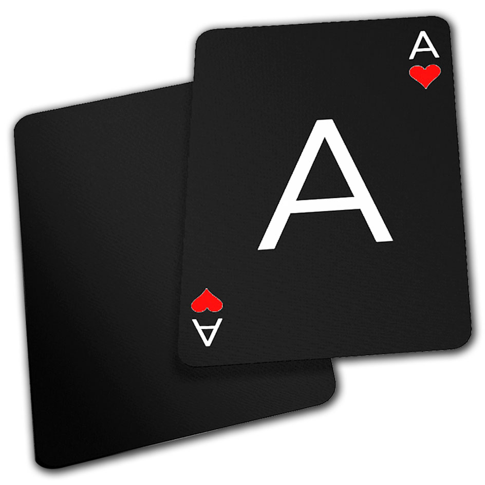 Two black cards